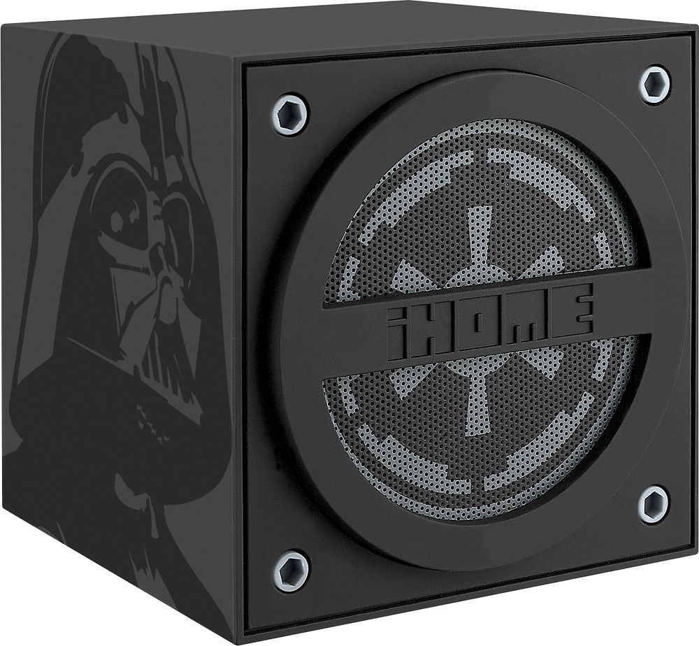 iHome Star Wars Darth Vader Wireless Rechargable Bluetooth Speaker