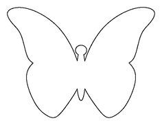 Flying Butterfly Pattern Use The Printable Outline For Crafts