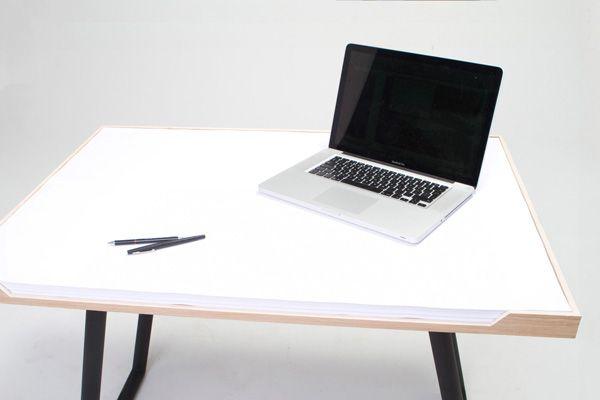 Un escritorio/cuaderno - http://www.elsafari.cl/2012/06/14/un-escritoriocuaderno/