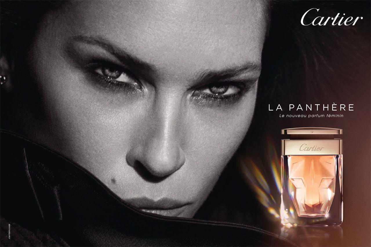 Bien-aimé La nouvelle publicité pour le parfum, La Panthère, de Cartier  HU68
