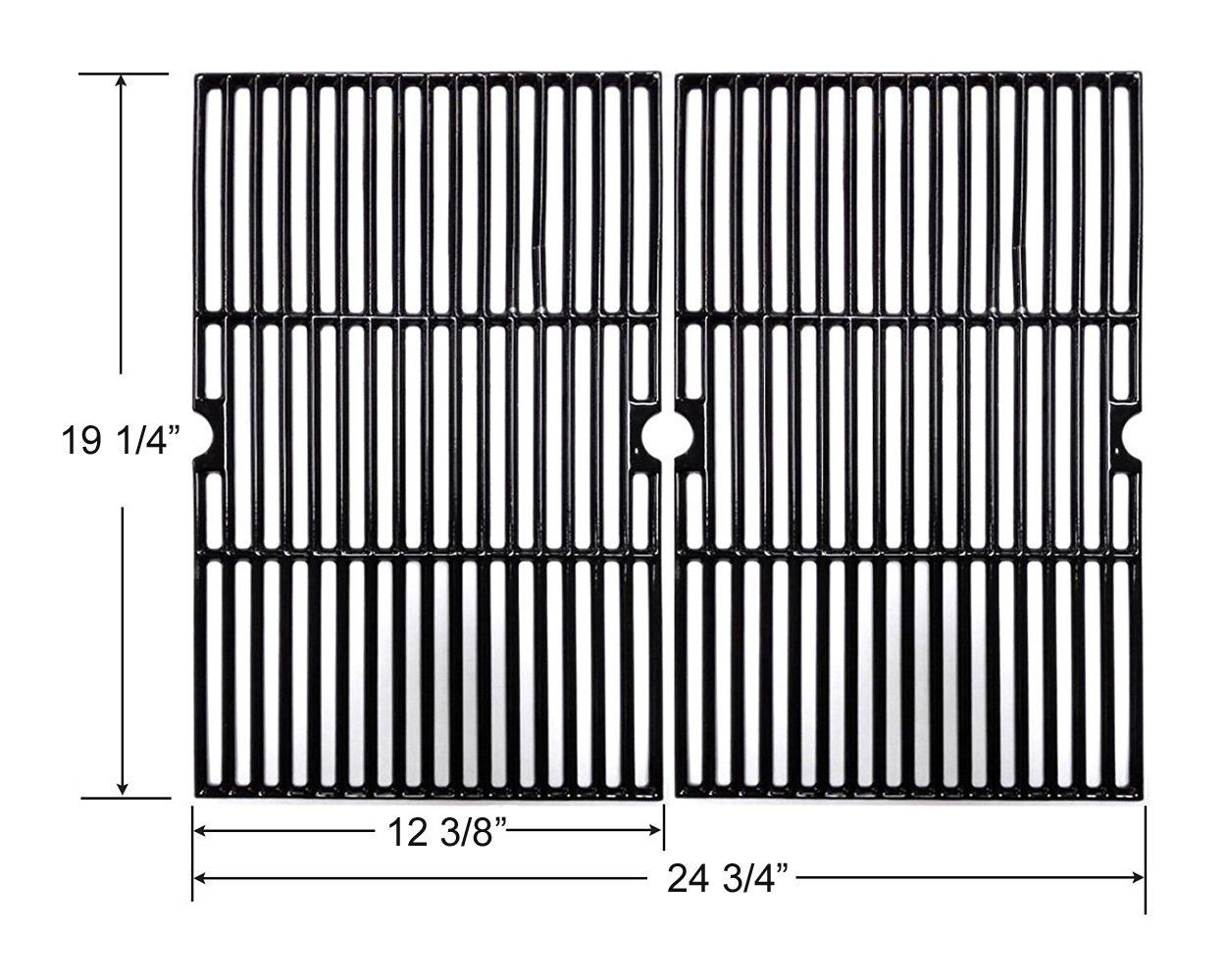 CG101 Universal Gas Grill Grate Cast Iron Cooking Grid