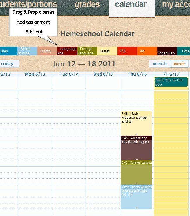 homeschooling records grade and attendance tracker pinterest