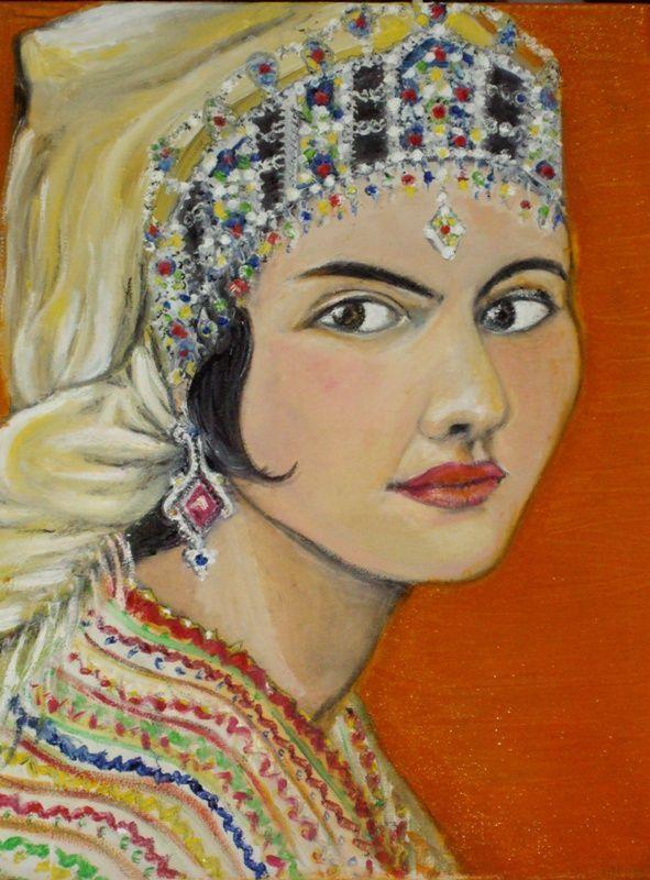 Kabyle Style Great Inspiration Clothes Art Portrait Art Portrait