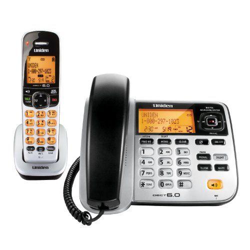 Http Branttelephone Com Uniden D1788 Dect 6 0 1handset Landline Telephone P 6486 Html Cordless Phone Phone Handset