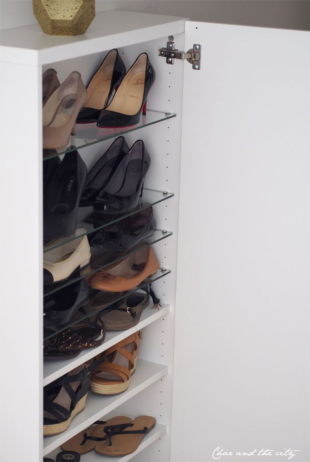 It´s all about shoe storage on the blog: http://divaaniblogit.fi/charandthecity/2014/09/16/ikea-besta-kenkakaappi/