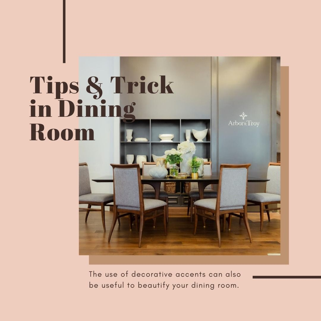 Tips Tricks From Us To Beautify Your Dining Room 2