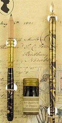 Pen, Pencil & Ink Set