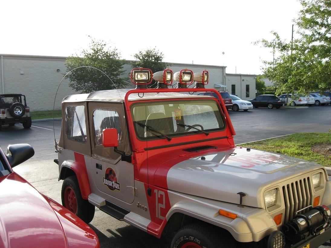 diy jurassic park jeep. 100% awesome | jurassic park jeep | pinterest