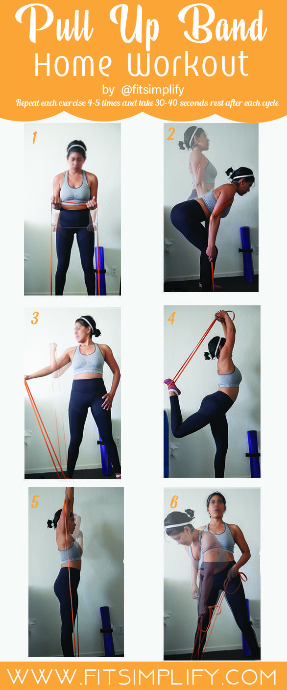 Resistance Pull Up Band Workout  Fit Simplify Resistance Band Workouts  Resistance Pull Up Band Workout  Fit Simplify Resistance Band Workouts    Resistance Pull Up Band...