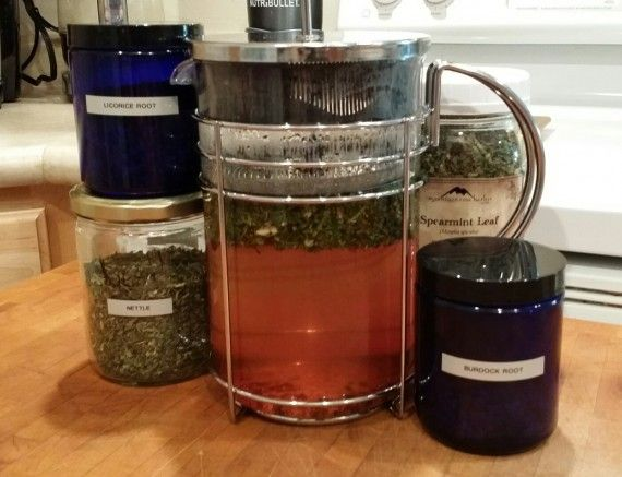 My New French Press Yields Big-Ass Batches of Herbal Medicine