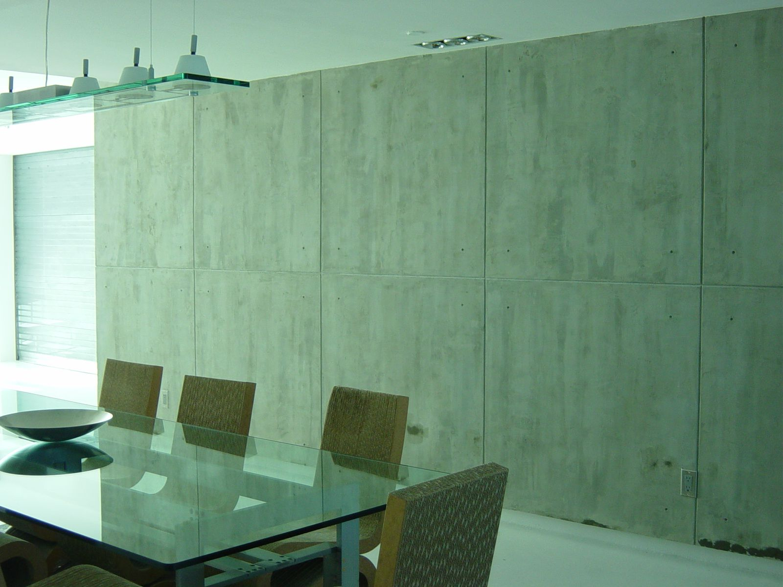 Faux Concrete walls