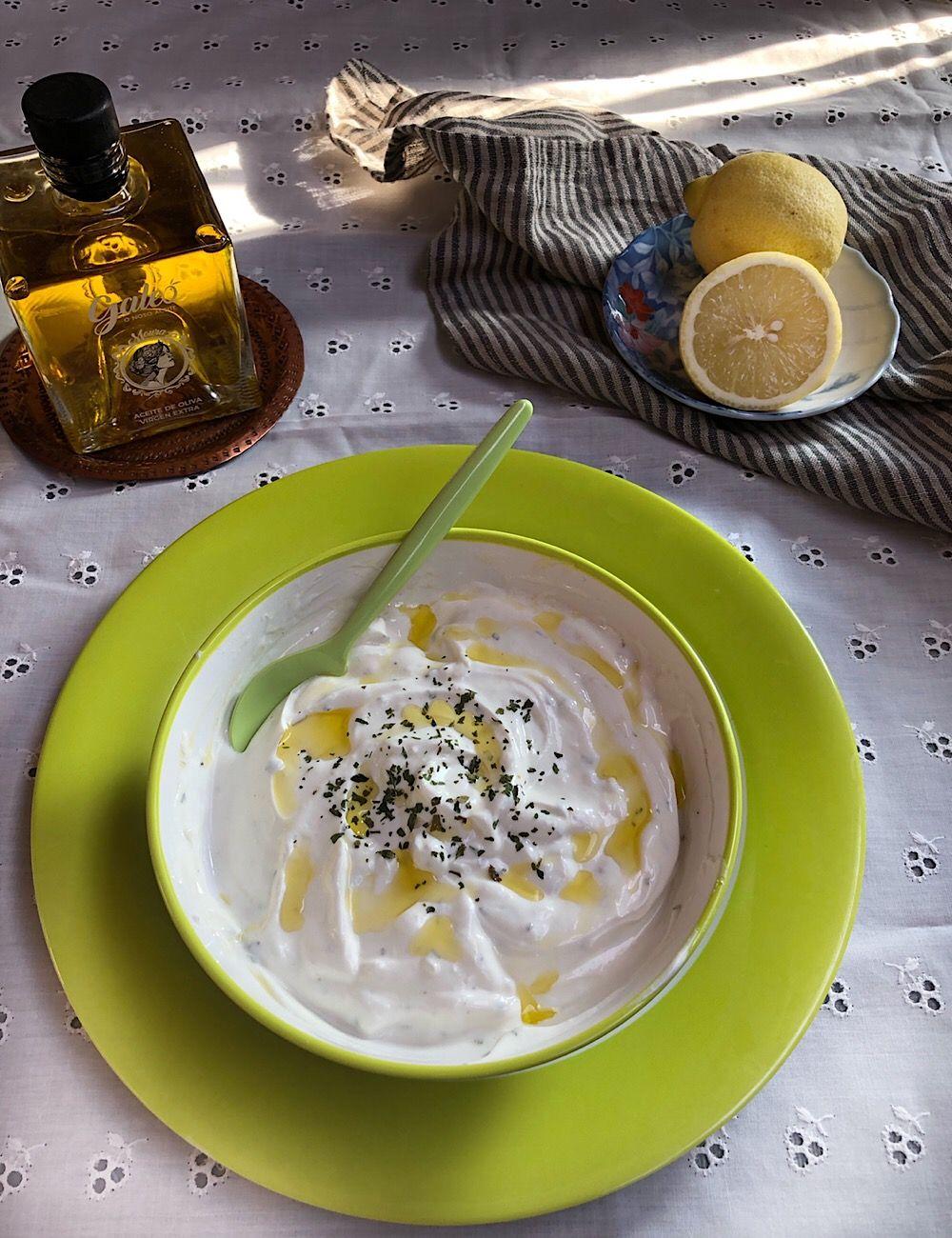 Salsa Fresca De Yogur Griego Receta La Cocina De Frabisa