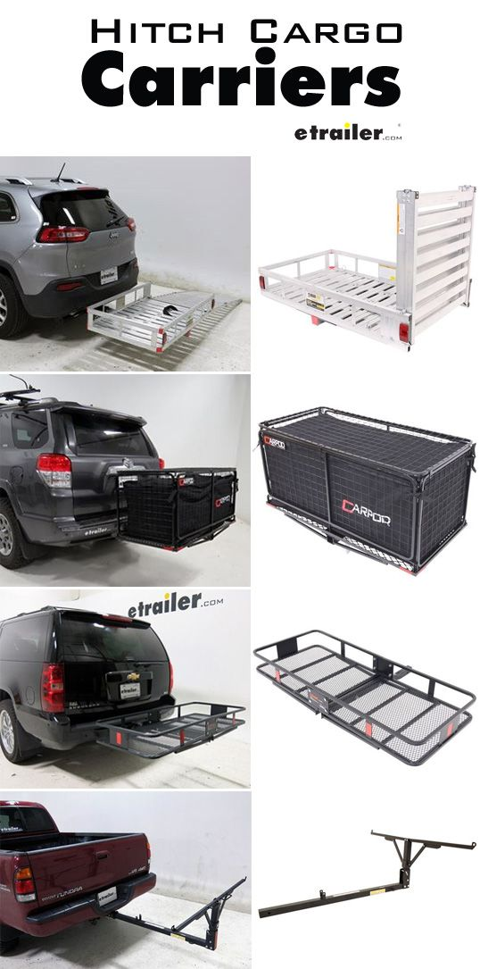 Hitch Cargo Carriers Are Great For Hauling Extra Gear That Won T Fit In Your Vehicle So Pack Up And L Hitch Mounted Cargo Carrier Cargo Carrier Cargo Carriers