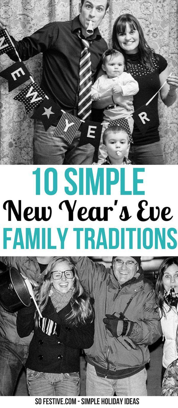 10 FUN New Year's Eve Tradition Ideas- Simple Holiday ...