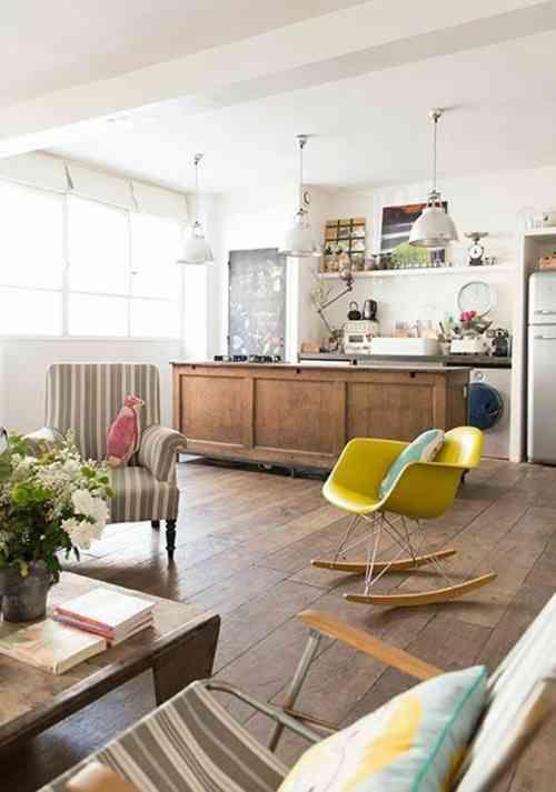 Cuisine ouverte conviviale et fonctionnelle pour la maison moderne
