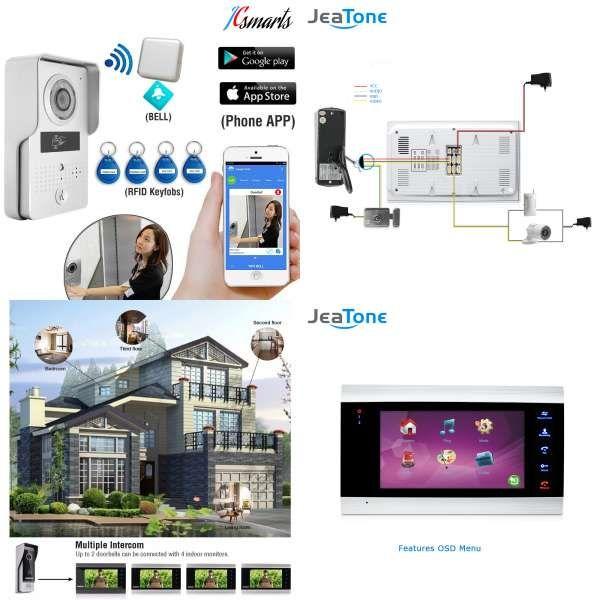 IP Video Intercom WI-FI Video Door Phone Door Bell WIFI