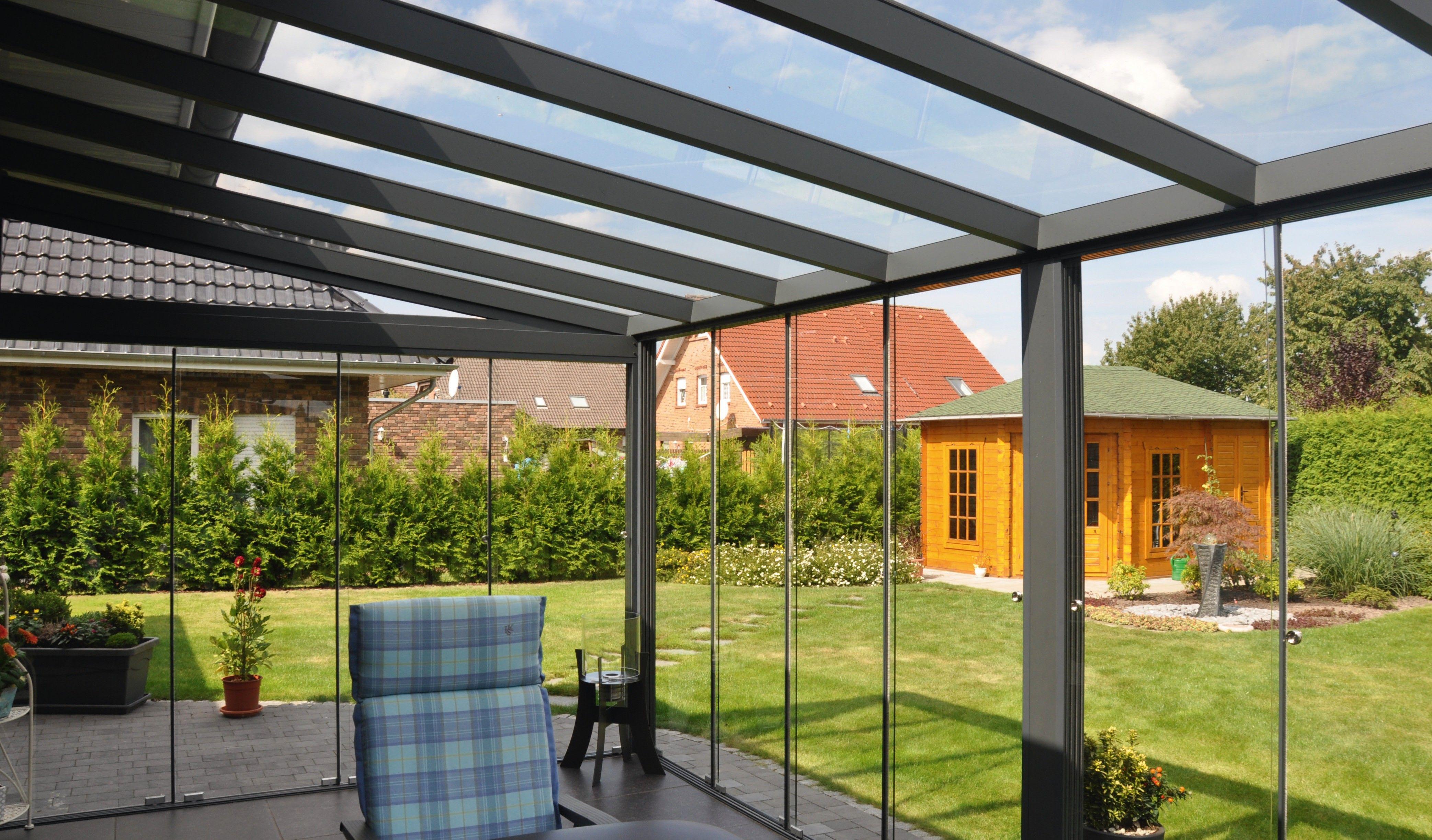 Terrazze Chiuse Con Vetrate interno veranda completa con vetrate scorrevoli | veranda