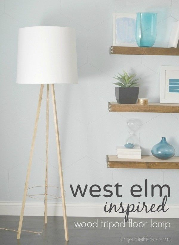Diy Tripod Floor Lamp With Images