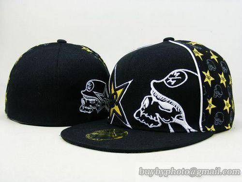 e09e2f9d84b ... greece rockstar energy drink 59fifty fitted caps hats size cap sports  hats black gray rockstar energy ...