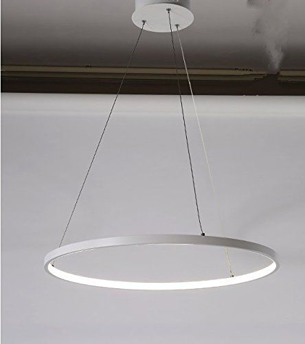 Qwer Minimalistische Led Kronleuchter Kreativen Charakter Ess Und Wohnzimmer Lampen Nordic Wind Kreis Stilvolle