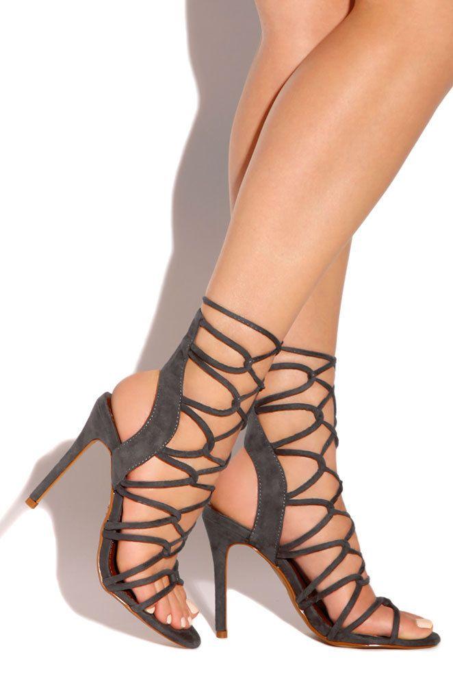 5181e63e41 Lola Shoetique - Obsession - Charcoal, $41.99 (http://www.lolashoetique