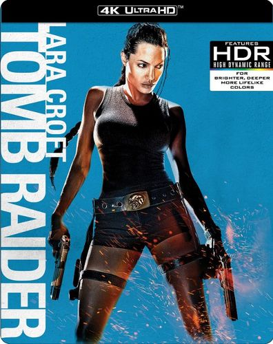 Lara Croft Tomb Raider 4k Ultra Hd Blu Ray 2 Discs 2001