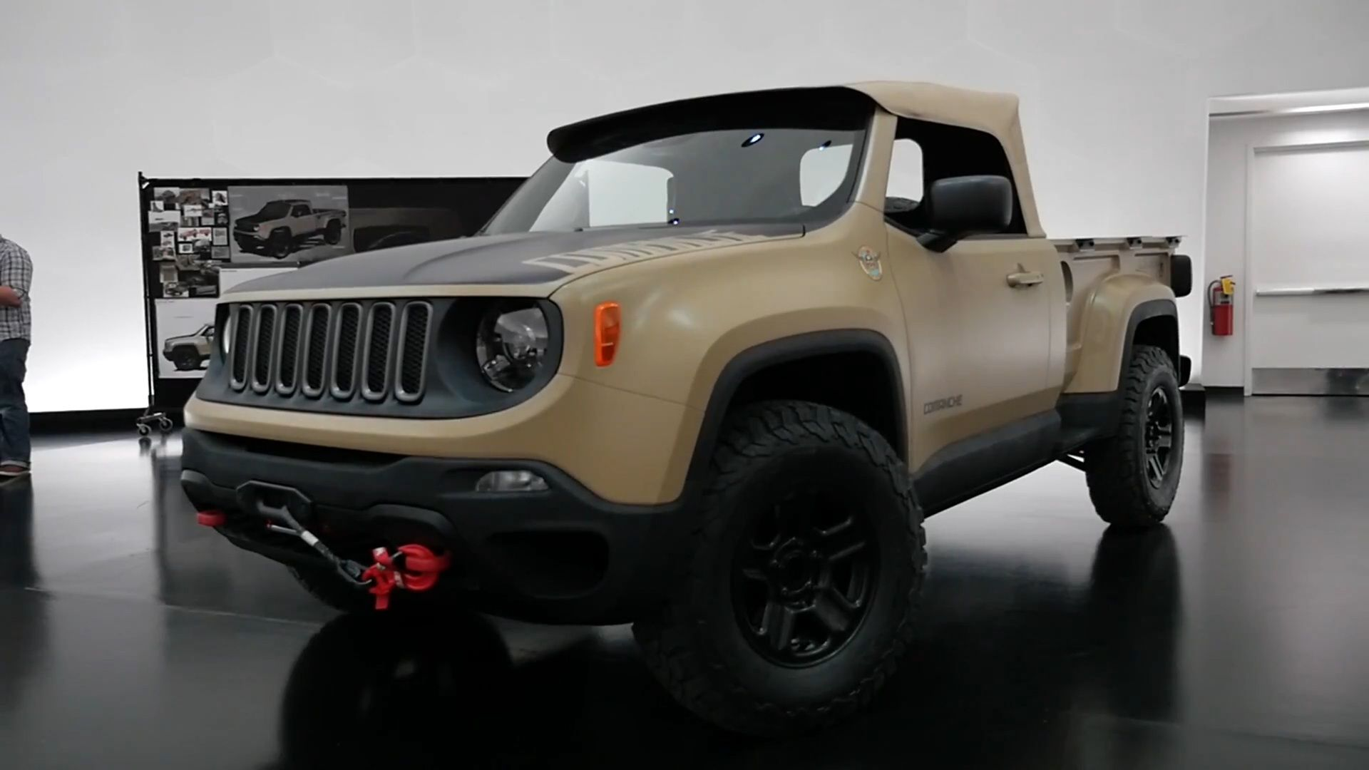 Jeep Renegade Comanche Pickup Concept Jeep Renegade Jeep Jeep