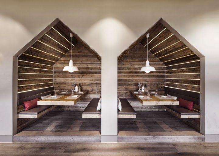 Restaurant Booth Interior Design | Restaurant Architecture ...