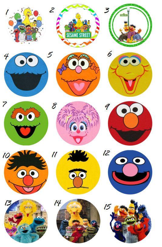 Sesame Street Edible Cake Cupcake or Cookie by ...