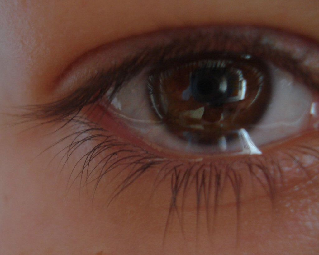 Crying Brown Eyes Crying Photography Aesthetic Eyes Brown Eyes