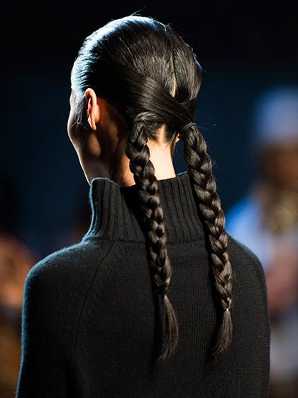 Hairstyles From New York Fashion Week We're Obsessed With - Fall 2016 - Sally LaPointe   allure.com