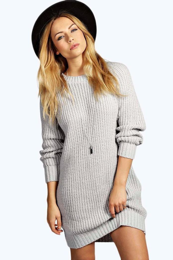 Soft Knit Jumper Dress Knitted jumper dress, Winter