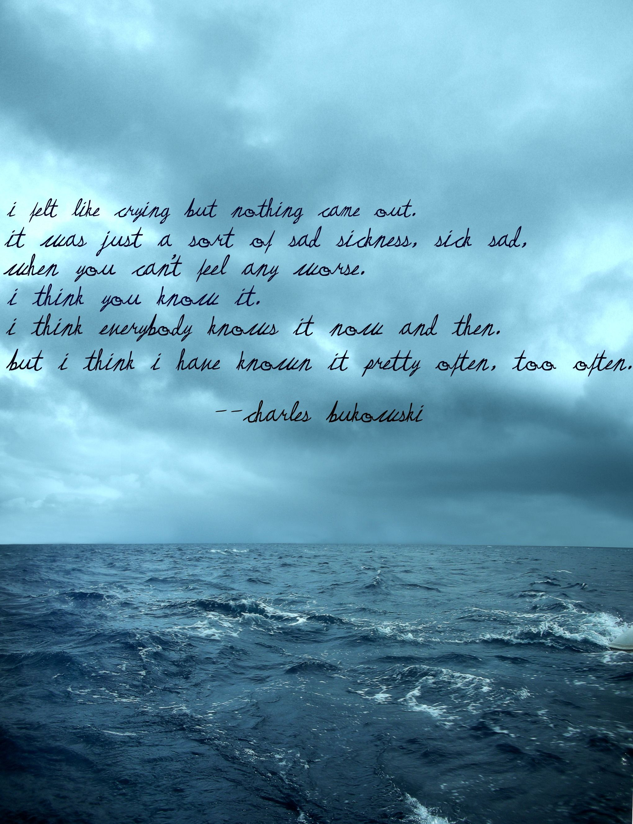There's something really beautiful about this quote-picture combo.