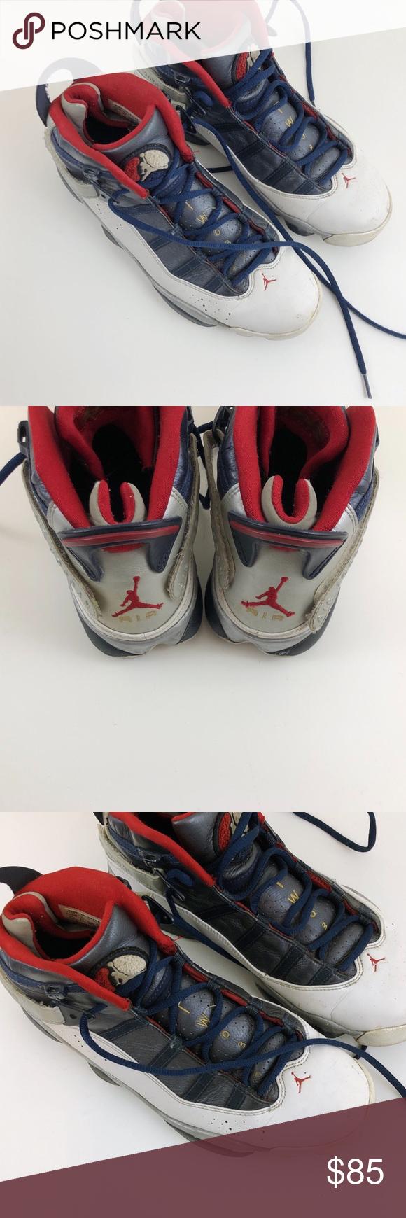 361cf541147 Air Jordan 6 Rings Sneakers. Men's size 10.5 Air Jordan 6 Rings olympics  White /