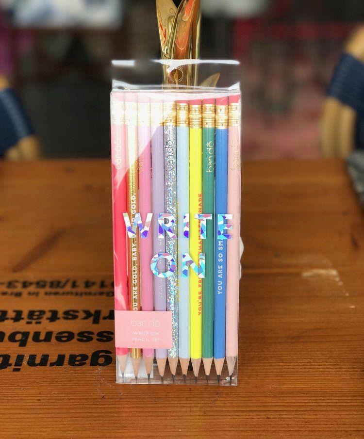 Write On Pencil Set