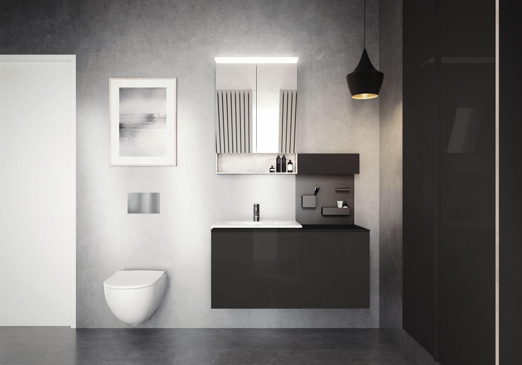 moderne keramag acanto badkamer spiegelkast wastafel onderkast voor wastafel mobiele. Black Bedroom Furniture Sets. Home Design Ideas