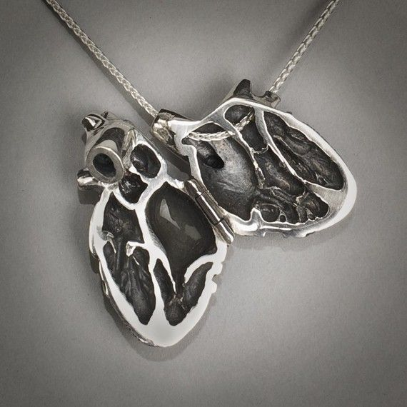 Wow The Inside Of The Heart Anatomy Pendant So Detailed Chd