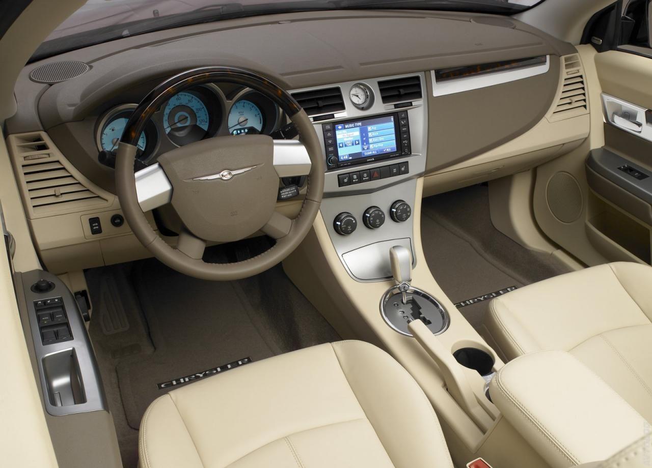 2008 Chrysler Sebring Convertible Interior