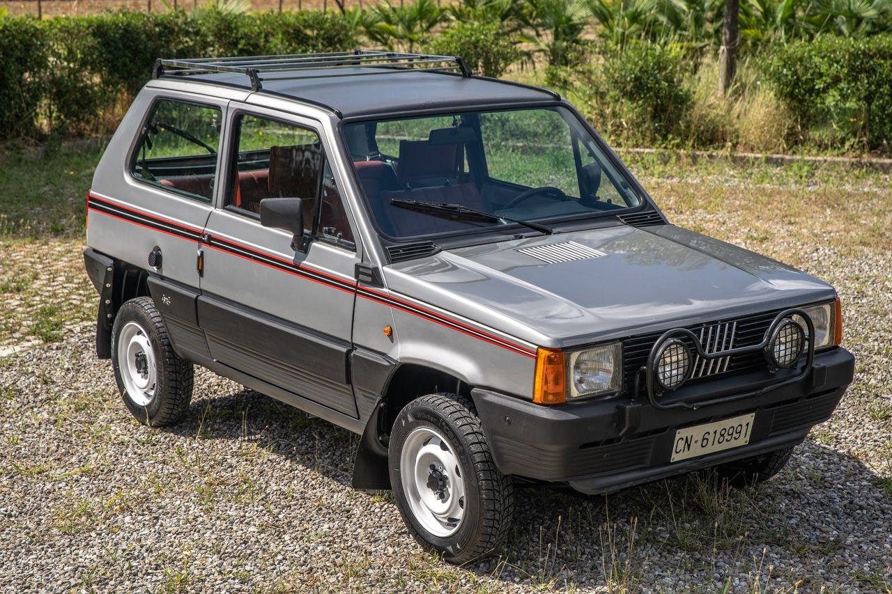 1985 Fiat Panda 4 4 Steyr Puch Con Immagini Auto Da Corsa