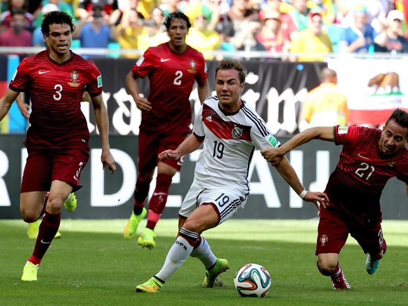 Mundial2014 Portugal Perde 4 0 Com A Alemanha Portugal Alemanha Mundial 2014