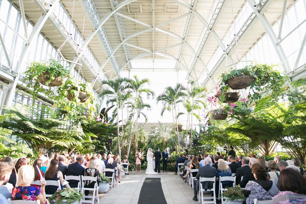 Ceremony At The Jewel Box Photography L Photographie Wedding Planner Cosmopolitan Events