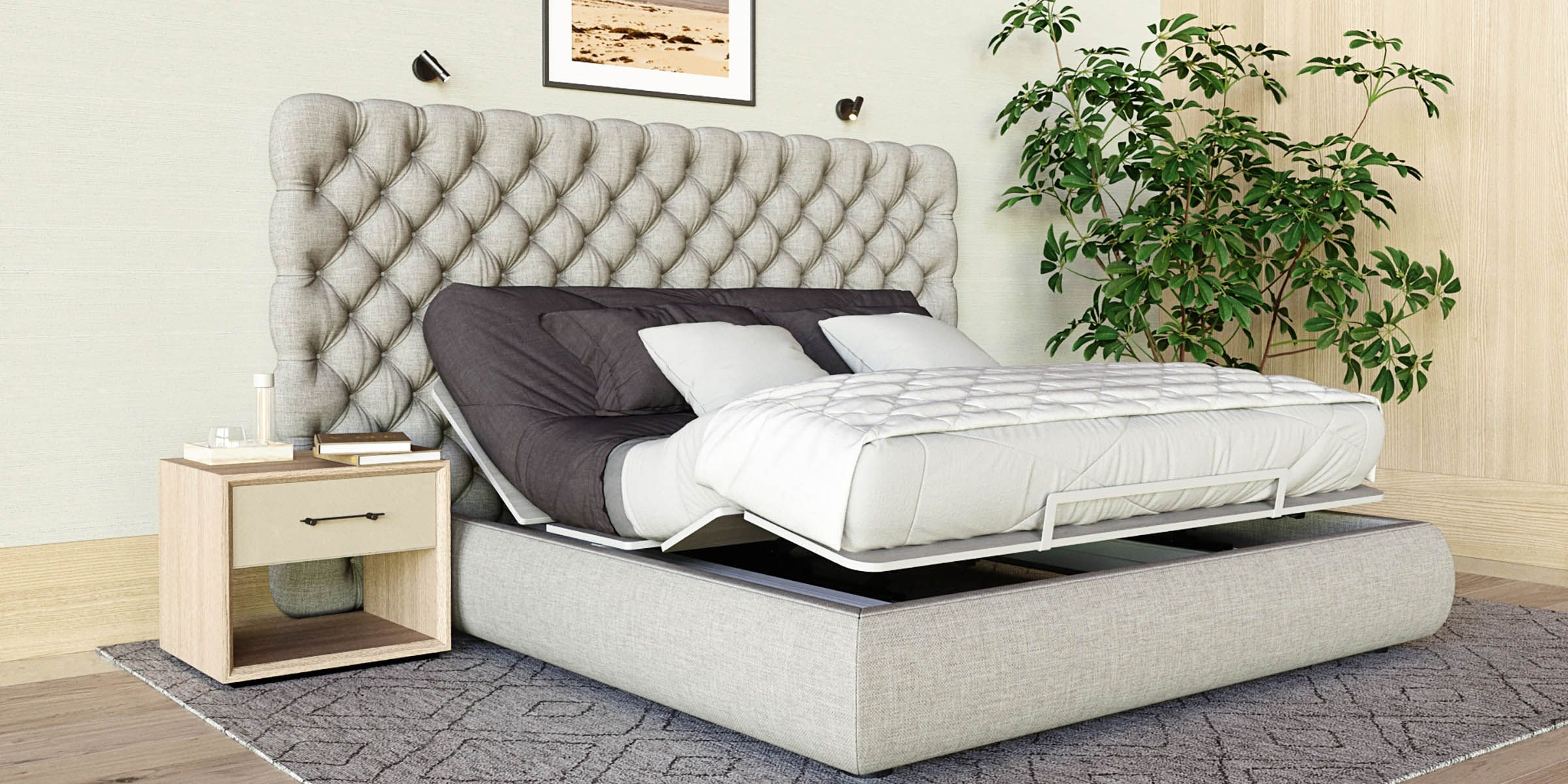 How To Choose A Headboard For Adjustable Bed Set It Up In 2020 Adjustable Bed Frame Adjustable Bed Headboard Adjustable Beds