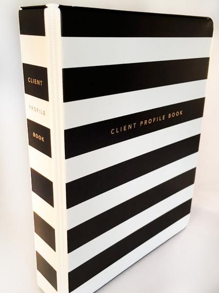 Eyelash Extension Book Divider, Extensions and Client profile