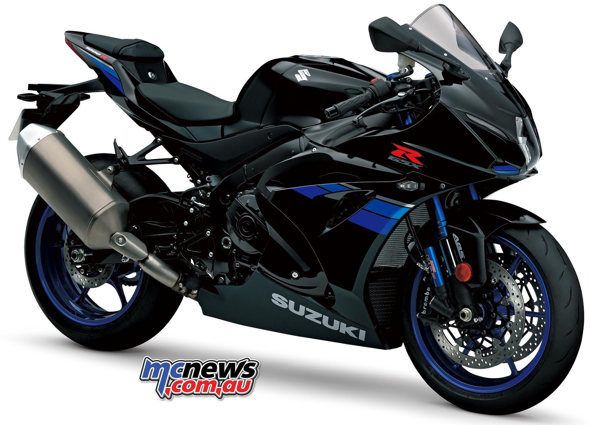 Suzuki gsx r1000r gets showa balance free forks bff and balance free lite