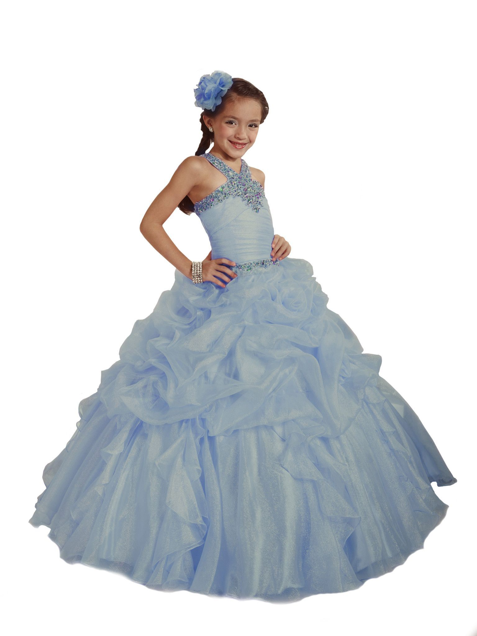 Tiffany Designs Princess ball gowns will make your little girl feel ...
