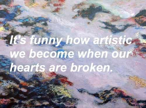 Image via We Heart It #artistic #broken #grunge #heart #pale #quotes #sad