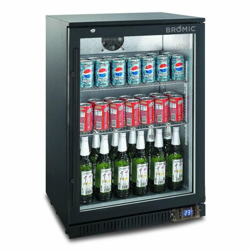 Bromic 118l Single Door Bar Fridge Hinged Bar Fridges Door Bar Single Doors