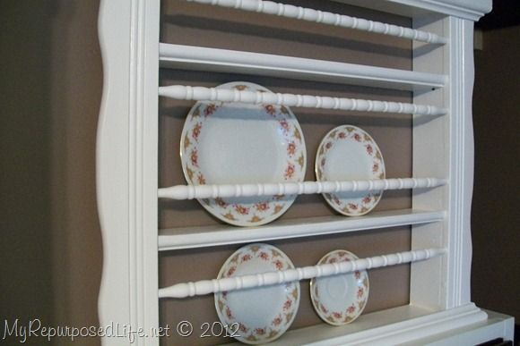 Repurposed Crib into Plate Rack & Repurposed Crib into Plate Rack | Plate racks Repurposed and Crib