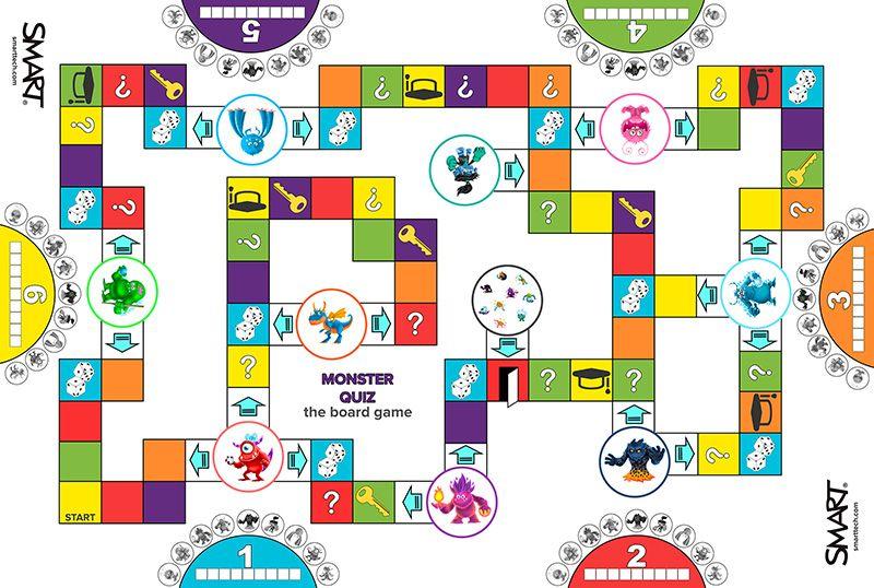 Board Game Monster Quiz small   Board games   Pinterest   Juegos ...
