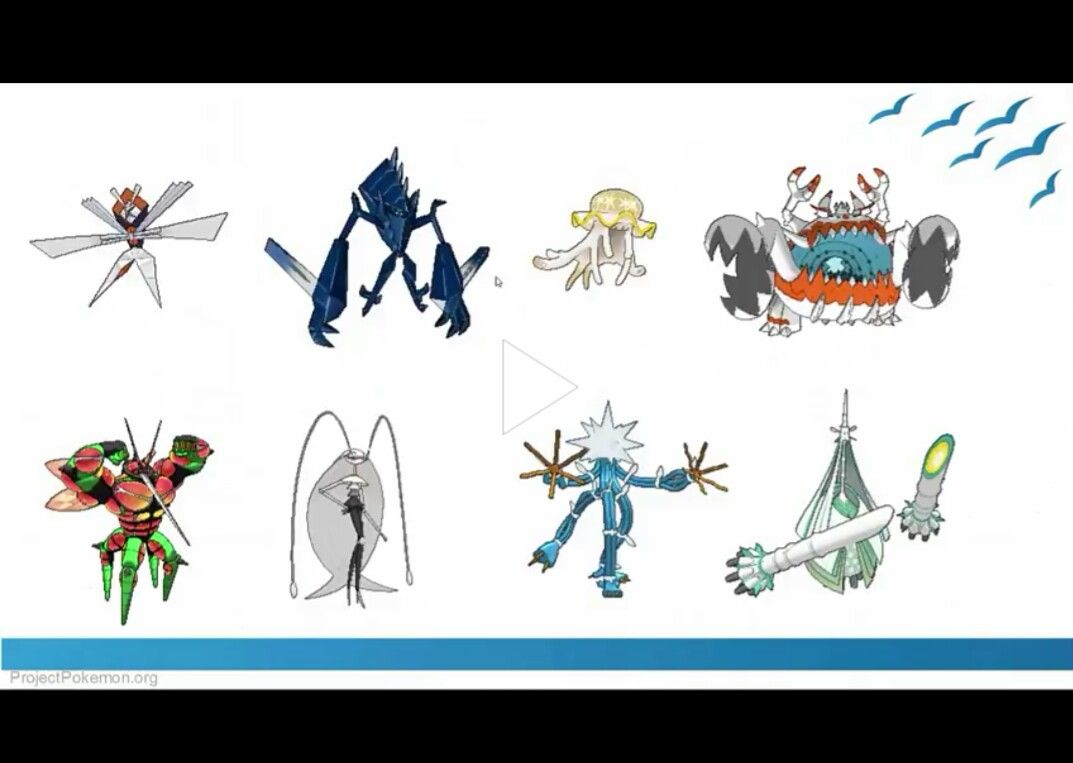 Pokémon Ultra Beasts  Characters  TV Tropes